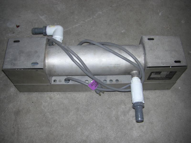 pond pump, heaters, u.v. filter, fluidized sand bed filter ...